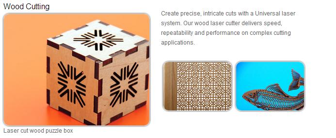 laser wood cutting