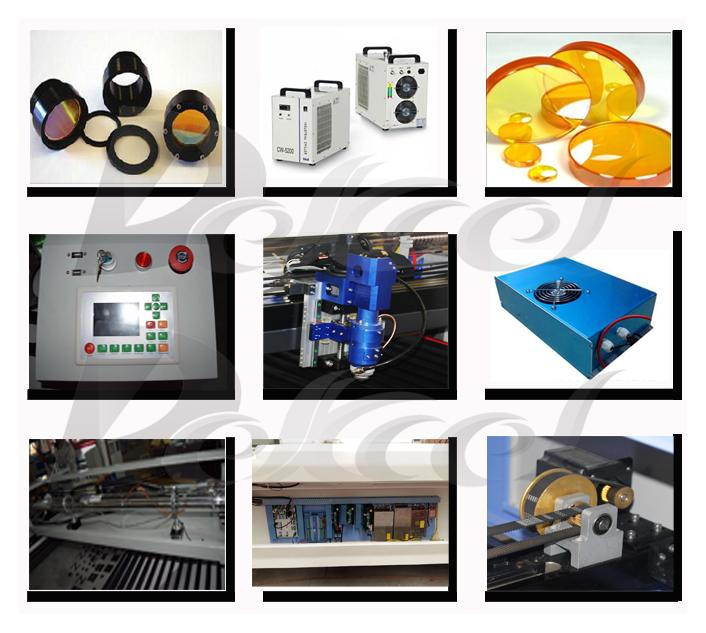 co2 metal laser cutting machine parts