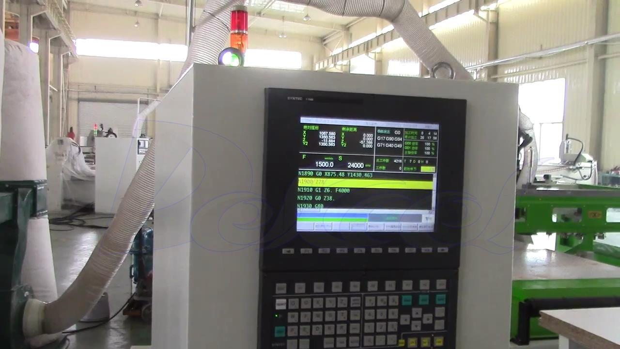 cnc furniture production line control system