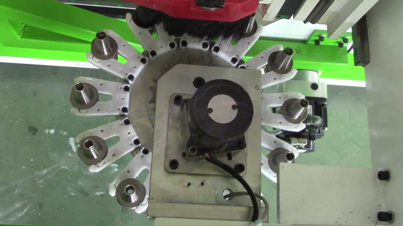 furniture production line tool change system