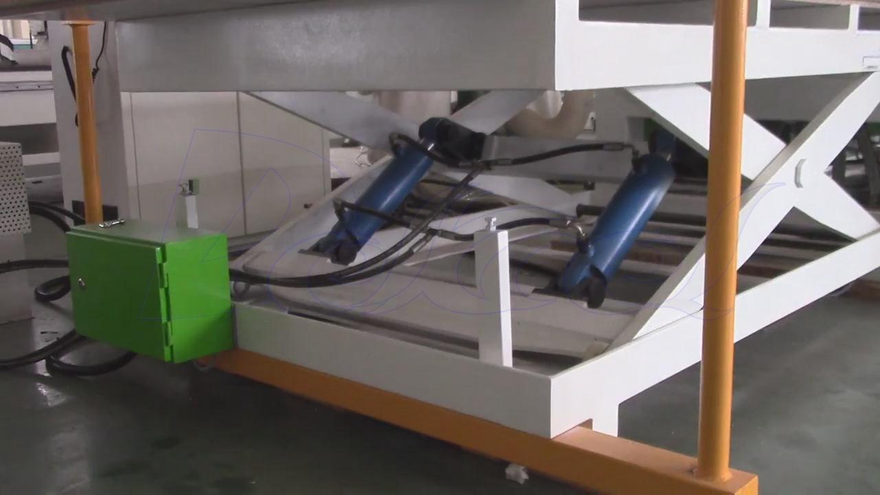 cnc furniture production line auto loading table