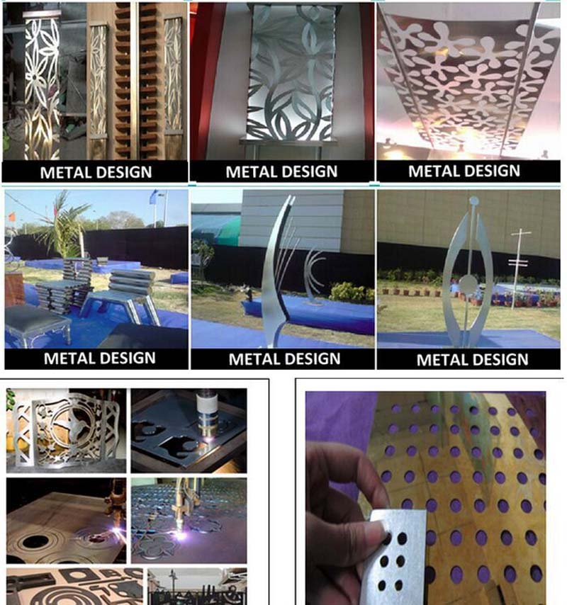 plasma metal cutter samples