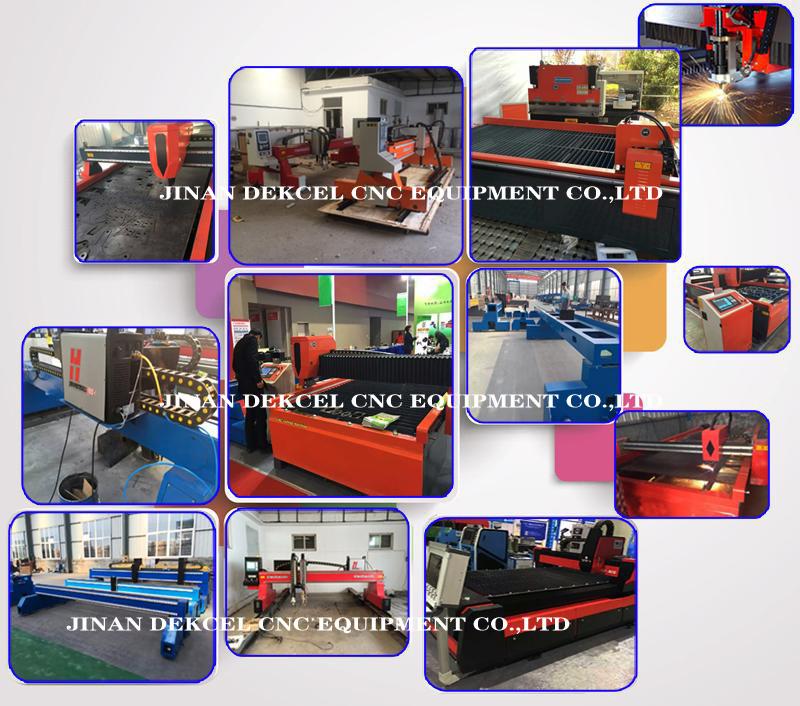 dekcel cnc plasma and flame machine for sale