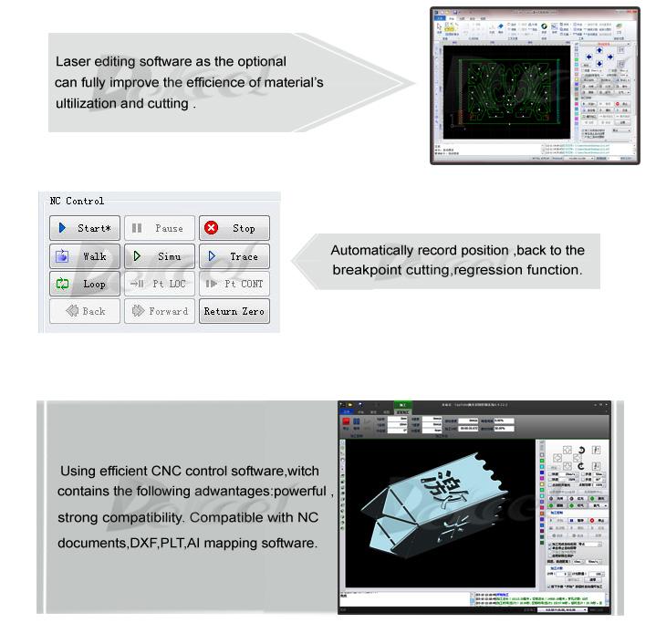 dekcel cnc fiber laser control system