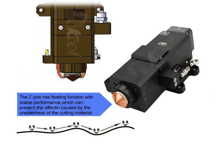 dekcel cnc fiber automatic follow system