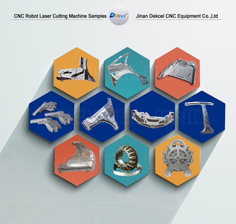 dekcel manipulator metal cutting samples