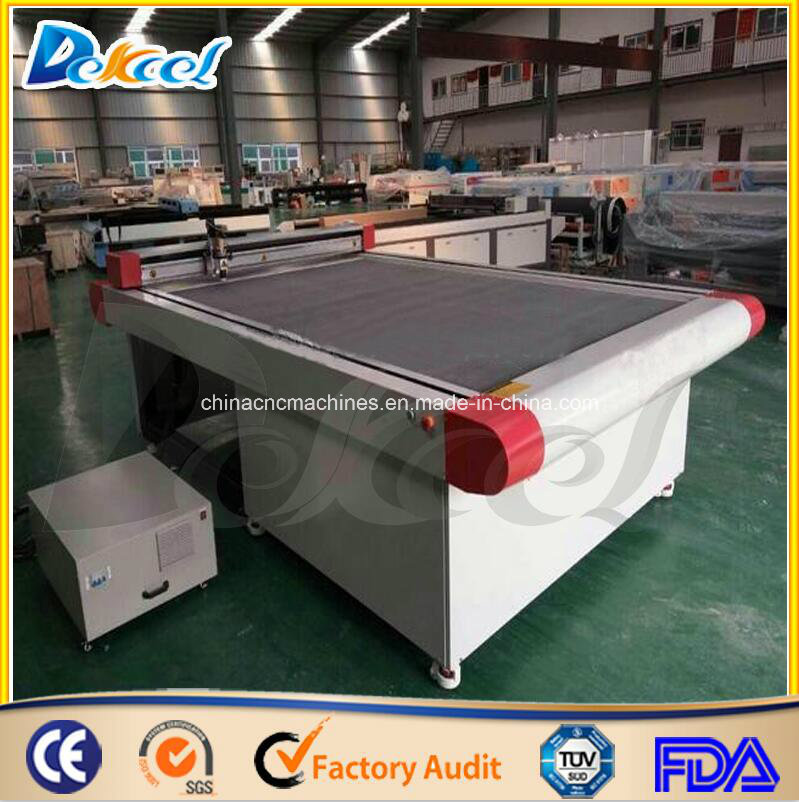 oscillating corrugated board cutting machine