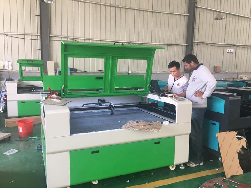 Training of laser cutting and engraving cnc machines - News