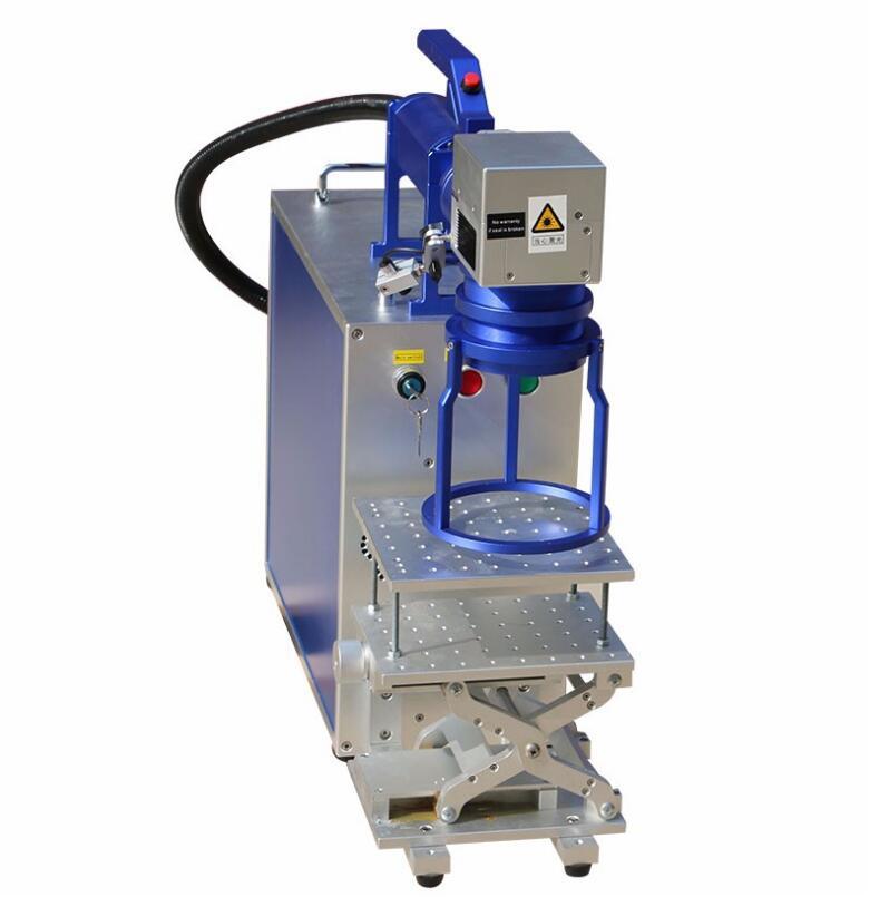 dekcel portable handhel laser marking machine