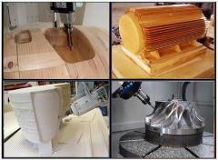 4&5 Axis Mold Sculpture Wood Foam CNC Engraving Router Application