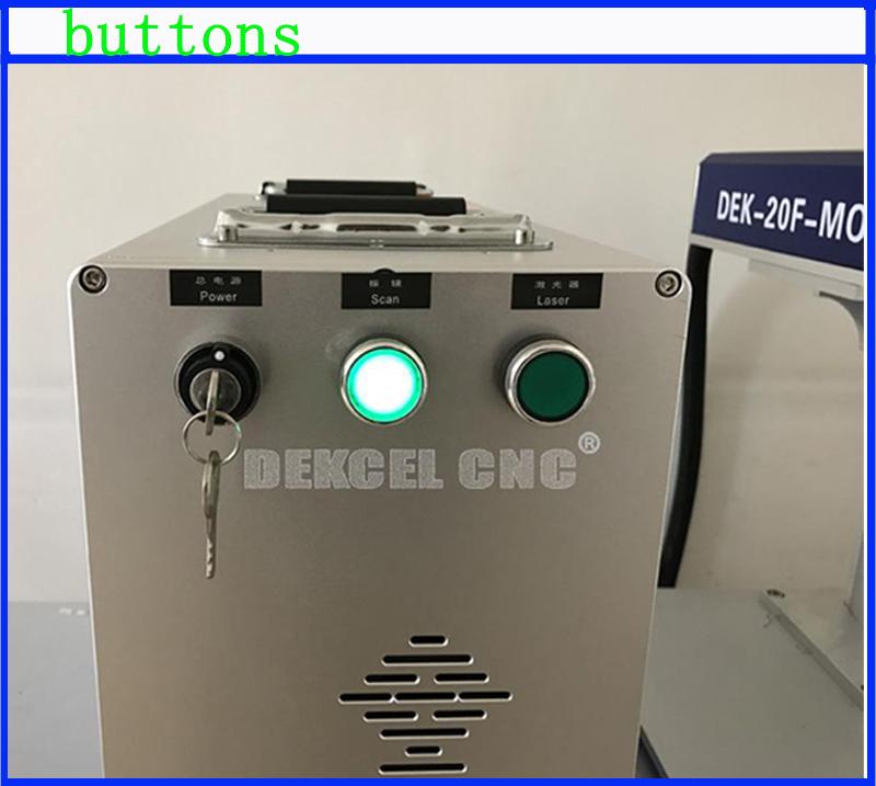 mopa 20 w fiber laser marker buttons