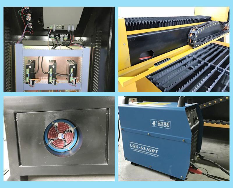 plasma cutting cnc machine for 20mm metal