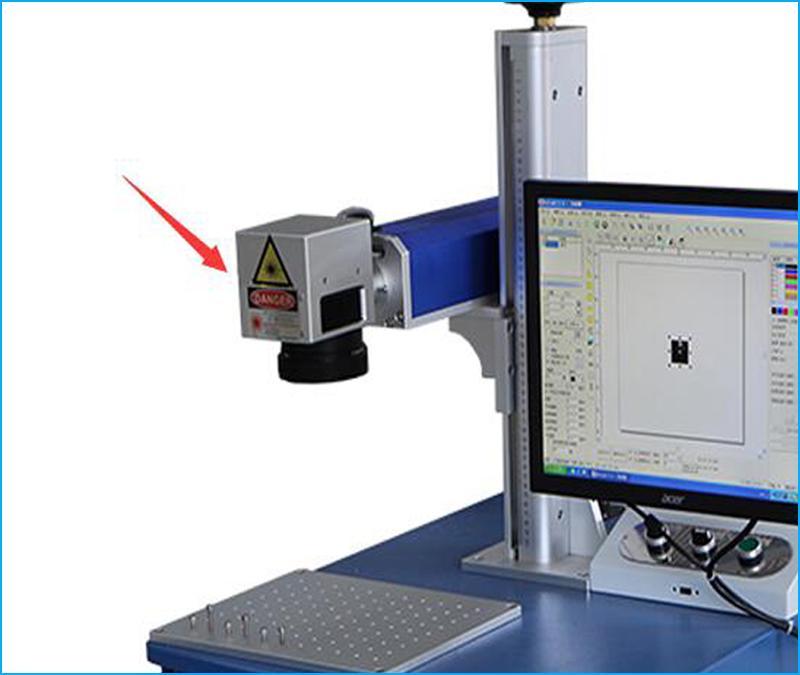 fiber laser marking machine head