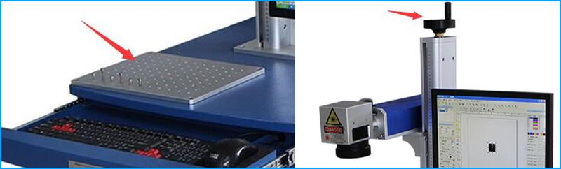 the details of marking laser machine