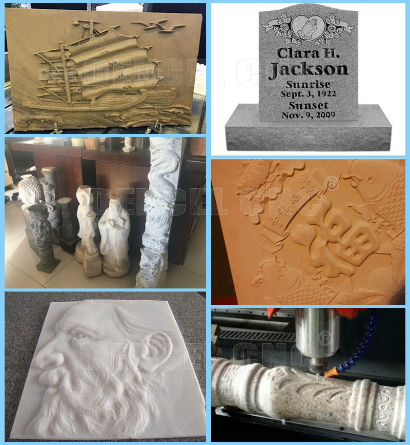 2d 3d granite engraver cnc machine sale