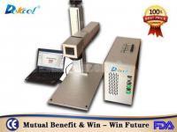 China portable colour fiber laser marking machine for SS aluminum