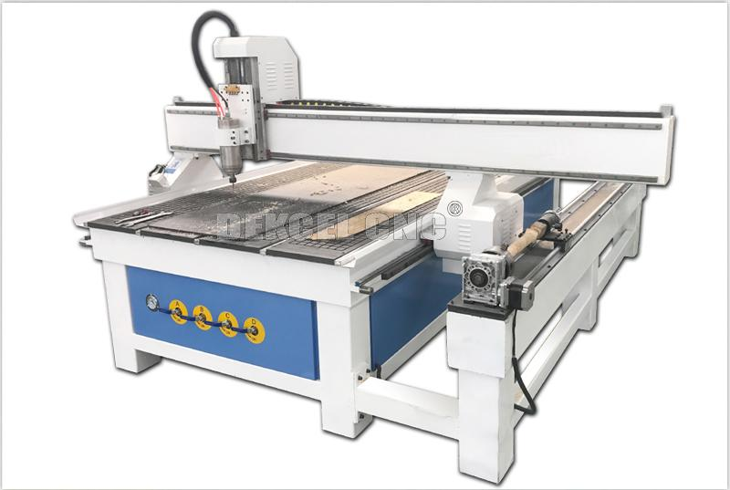 3d wood carving cnc router with rotary