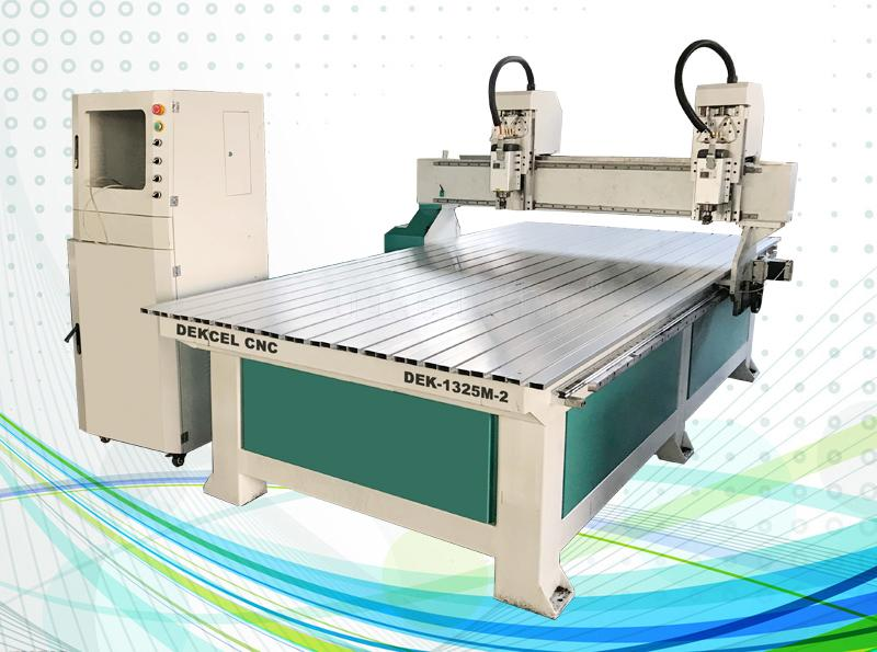 double head engraving cnc router