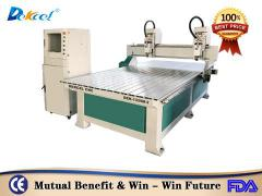 Best double heads cnc machine solid wood engraving machine for sale