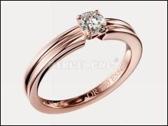 What advantages of fiber metal laser marking machine for ring?