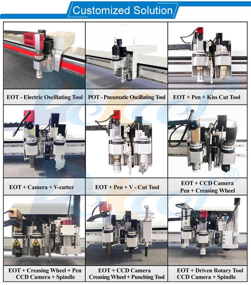 cnc knife cutter machine tools