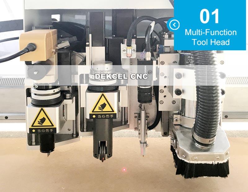 muliti function cnc knife cutter machine